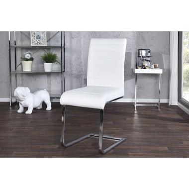 STUART Krzesło białe 15472