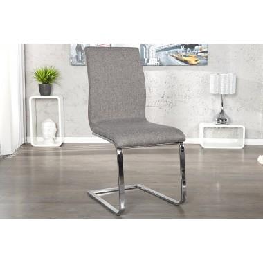 HAMPTON Krzesło do jadalni szare / 22125