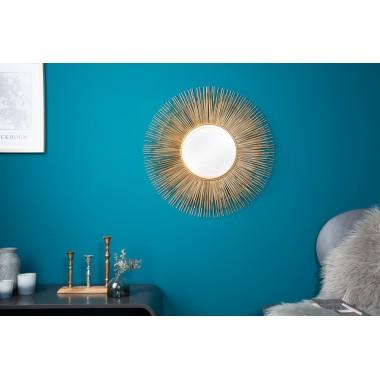 SUNLIGHT Lustro M kolor złoty / 8739