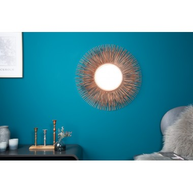 SUNLIGHT Lustro M kolor miedziany / 8748