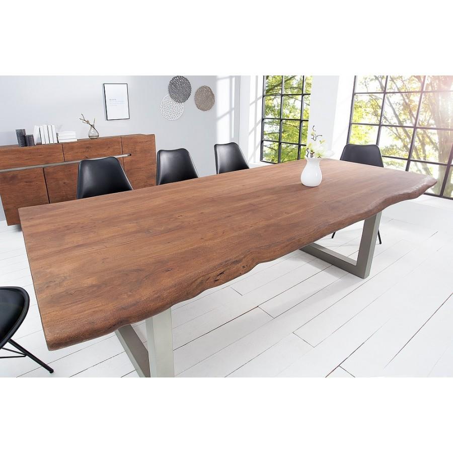 MAMMUT stół do jadalni 220 cm Akacja 60 mm / 36645