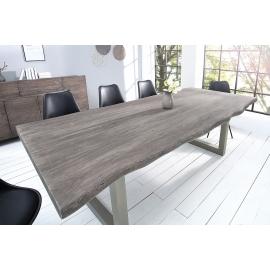 MAMMUT stół do jadalni 240 cm szary akacjowy / 37242