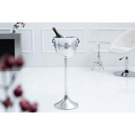 Chłodziarka do szampana CHAMPAGNE 75cm srebrny / 38068