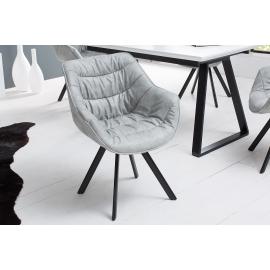 Krzesło DUTCH COMFORT antyczne jasnoszare / 38438