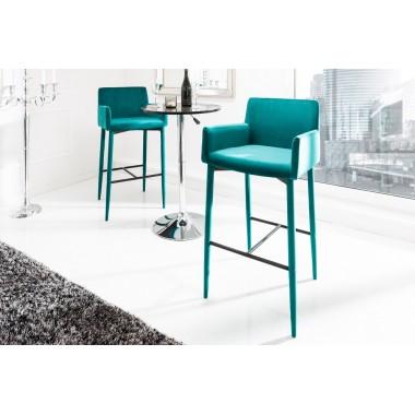 MILANO Krzesło barowe / Hoker aqua / 38854