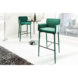 MILANO Krzesło barowe / Hoker velvet grey / 38853