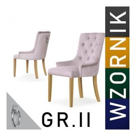 Krzesło AUGUST - wzornik tkanin GR1