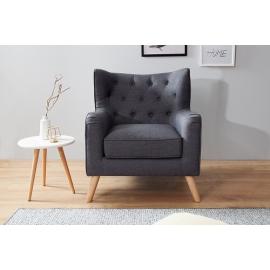 Scandinavia fotel Lounge antracyt / 38323