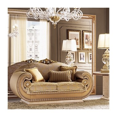 LEONARDO Sofa 2 osobowa z poduszkami cylindrycznymi 167cm Living Room / ACLS2