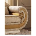 LEONARDO Fotel z poduszkami cylindrycznymi 114cm Dining Room / ACLF