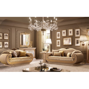 LEONARDO Sofa 3 osobowa z poduszkami cylindrycznymi 228cm Living Room / ACLS3