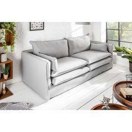 Sofa CLOUD 195cm jasnoszary / 39166