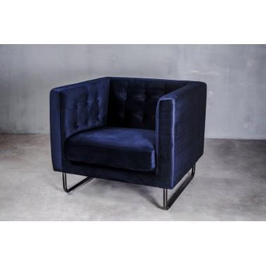 """Sofa 1-osobowa Meno 1S w kolorze """"DEEP NAVY"""" 84cm / GIFFI"""