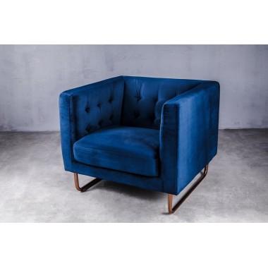 """Sofa 1-osobowa Meno 1S w kolorze """"STANDARD BLUE"""" 84cm / GIFFI"""