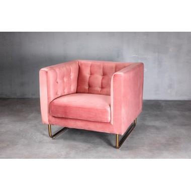 """Sofa 1-osobowa Meno 1S w kolorze """"THE PINK"""" 84cm / GILLI"""