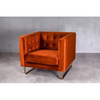 """Sofa 1-osobowa Meno 1S w kolorze """"DUSTY ORANGE"""" 84cm / GILLI"""