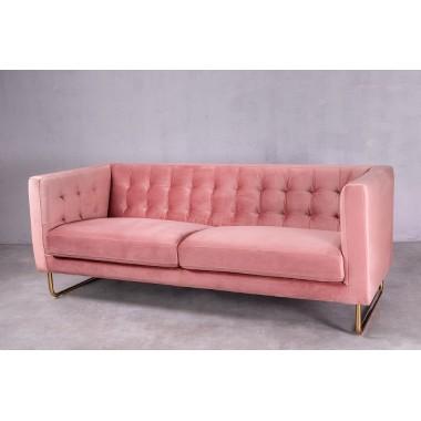 """Sofa 3-sobowa Meno 3S w kolorze """"The Pink"""" 191cm / GILLI"""