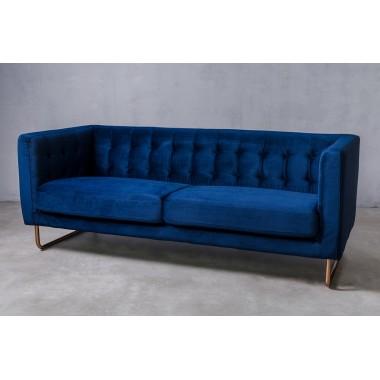 """Sofa 3-sobowa Meno 3S w kolorze """"STANDARD BLUE"""" 191cm / GILLI"""