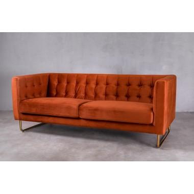 """Sofa 3-sobowa Meno 3S w kolorze """"DUSTY ORANGE"""" 191cm / GILLI"""