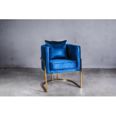 Fotel MAUI Electric Blue 62cm niebieski / GILLI