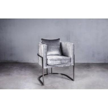 Fotel MAUI Stunning Silver 62cm srebrny / GILLI