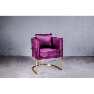 Fotel MAUI Royal Violet 62cm fioletowy / GILLI