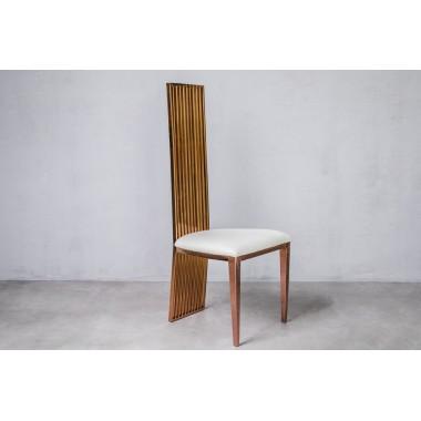 Krzesło CEILON Bridal White BIAŁE 45cm / GILLI