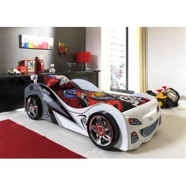 CAR BEDS Łóżko auto wyścigowe BRAP / SCBB200W