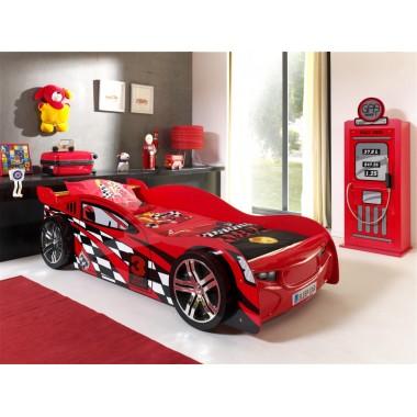 CAR BEDS Łóżko auto wyścigowe NIGHTSPEEDER RED / SCNNS200R