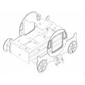 CAR BEDS Łóżko PRINCESS KATE CAR BED / SCPC201