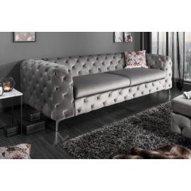 Sofa MODERN BAROCK 238cm szara / 38714