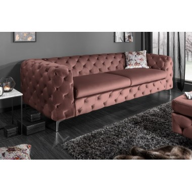 MODERN BAROCK Sofa 238cm altrosa/ 38715