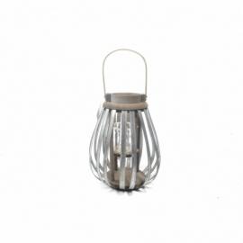 Drewniany lampion 9x30 cm