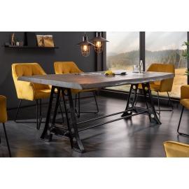 Stół do jadalni MAMMUT Industrial 220 cm akacja szary / 39756