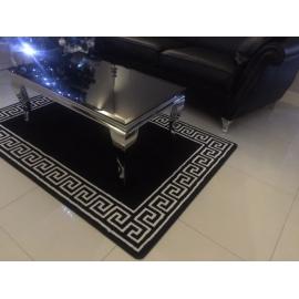 DYWAN czarny VERSACE 120cm x 170cm
