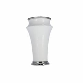 Ceramiczny wazon biały 12x20