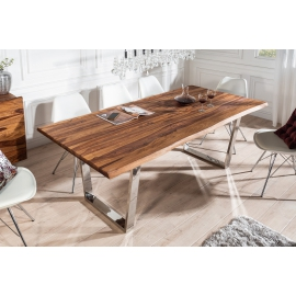 Stół do jadalni MAMMUT 200 cm Sheesham 35 mm / 39857