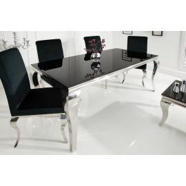 Stół Modern Barock 180 cm / Czarny blat