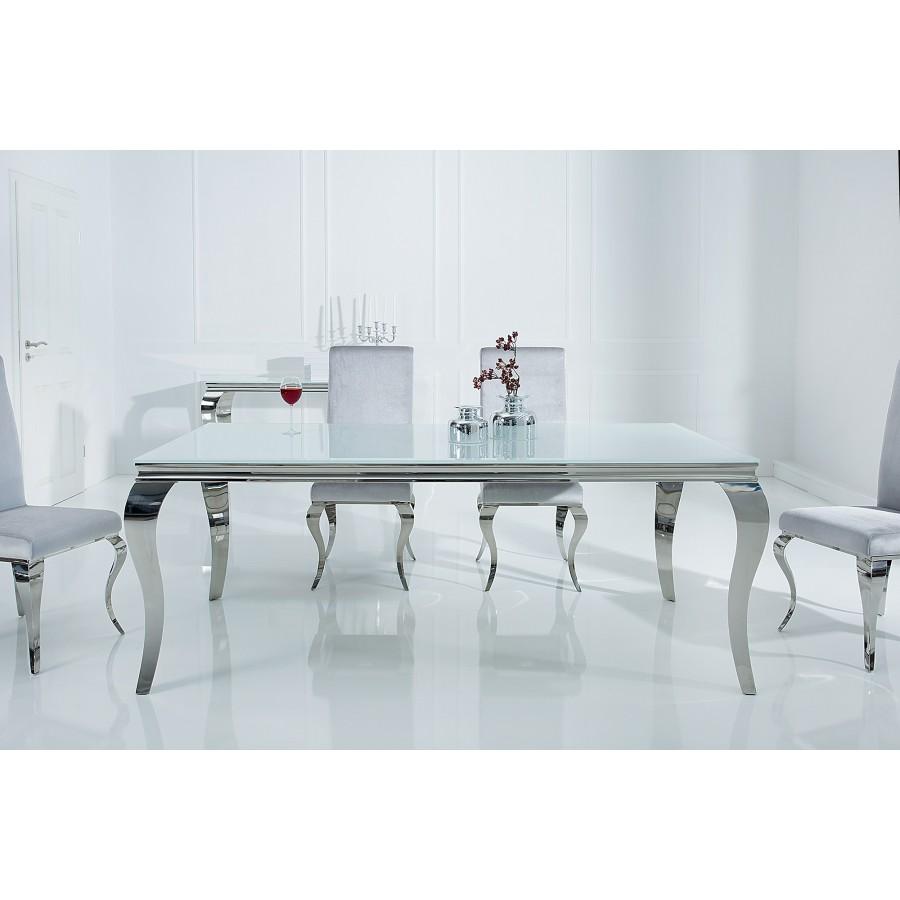 Stół Modern Barock 180 cm / Biały blat