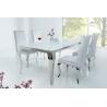 Stół Modern Barock 200 cm / Biały blat