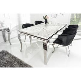 Stół Modern Barock 200 cm / Marmurowy blat
