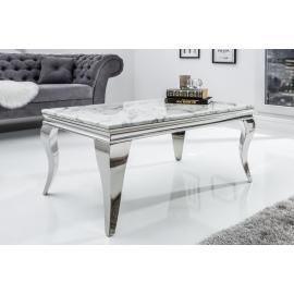Stolik Modern Barock 100cm  z blatem marmurowym