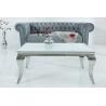 Stolik Modern Barock 100cm z blatem białym