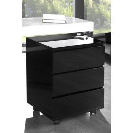 Kontenerek do biurka BIG DEAL  / czarny