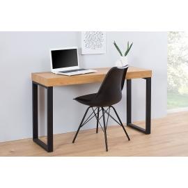 Biurko / Stolik na laptopa Dąb 120 cm czarny