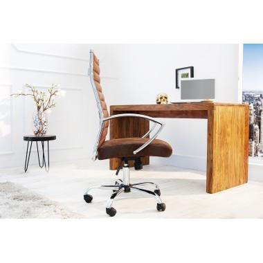 Fotel biurowy Big Deal antyczna kawa