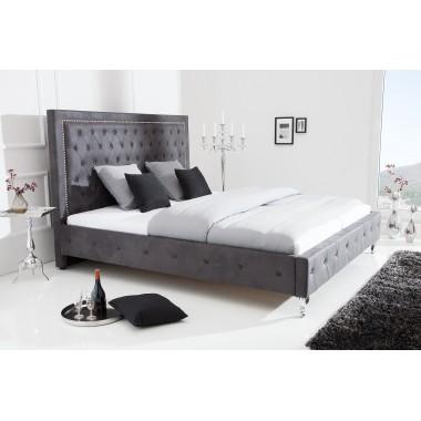 Łóżko EXTRAVAGANCIA 180x200 cm antyczny szary / 38484