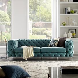 Sofa MODERN BAROCK 238cm morska / 38716