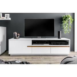Komoda TV ELEMENTS 160 cm biała / 38952