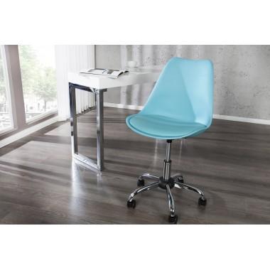 Krzesło biurowe SCANDINAVIA II turkus / 38221